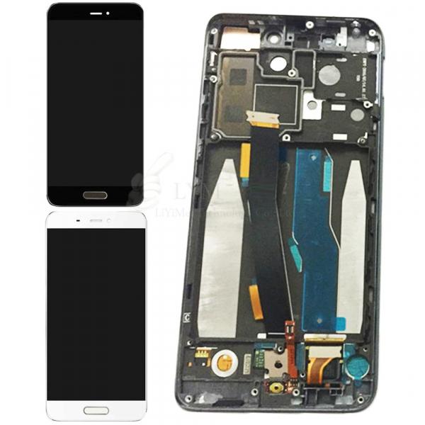 Display Xiaomi mi5 OGS Original cu Cadru Metalic si senzor Amprenta 0