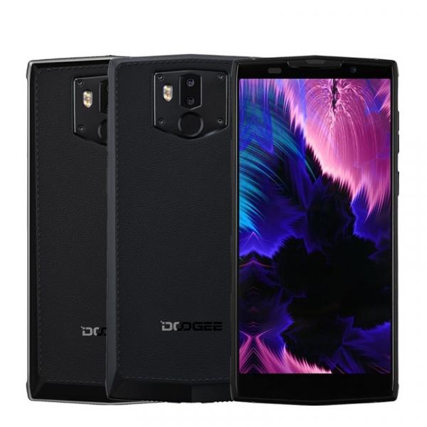 Telefon mobil Doogee BL9000, Android 8.1, 5.99inch, 6GB RAM, 64GB ROM, MTK6763 OctaCore, 9000mAh, NFC,Incarcare Wireless, Dual SIM 0