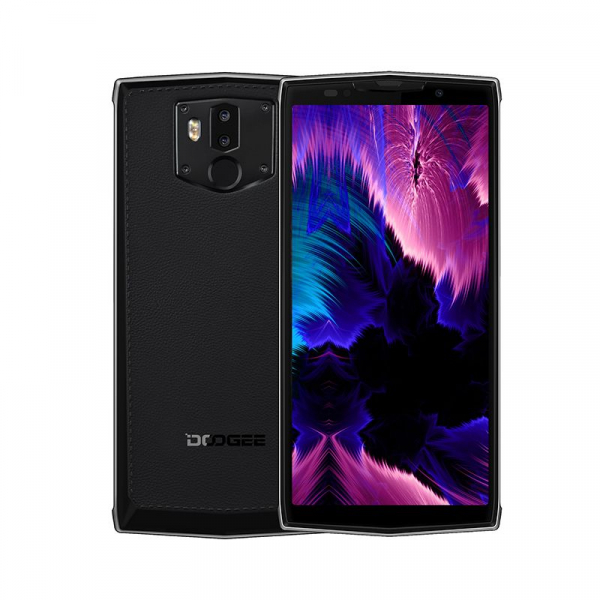 Telefon mobil Doogee BL9000, Android 8.1, 5.99inch, 6GB RAM, 64GB ROM, MTK6763 OctaCore, 9000mAh, NFC,Incarcare Wireless, Dual SIM 1