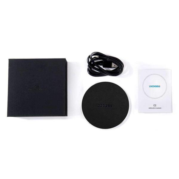 Incarcator wireless Doogee C210W Qi, Incarcare rapida, Charging Pad 2