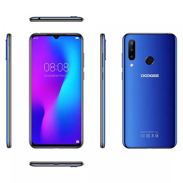 Telefon mobil Doogee N20, 4GB RAM, 64GB ROM, Android 9.0, MediaTek Helio P23,ARM Mali-G71 MP2, Octa-Core, 6.3 inch, 4350 mAh, Dual SIM 4