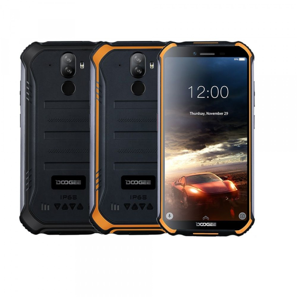 Telefon mobil Doogee S40 Pro, 4G, IPS 5.5inch, 3GB RAM, 32GB ROM, MT6739 QuadCore, Android 9.0,Waterproof, 4650mAh, Dual SIM 0