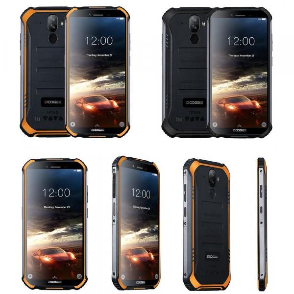 Telefon mobil Doogee S40 Pro, 4G, IPS 5.5inch, 3GB RAM, 32GB ROM, MT6739 QuadCore, Android 9.0,Waterproof, 4650mAh, Dual SIM 1