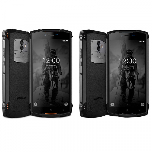 Telefon mobil Doogee S55 4G, Android 8.0, 4GB RAM 64GB ROM, 5.5 inch, MTK6750T Octa Core, Camera dubla, Amprenta, Dual SIM imagine