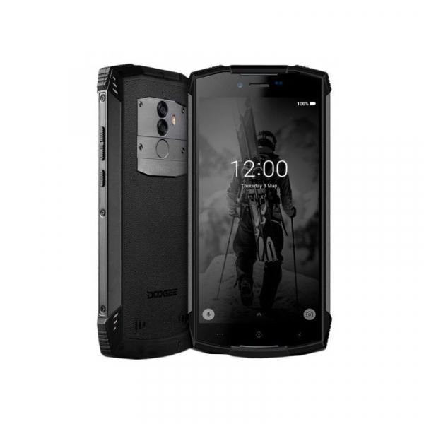 Telefon mobil Doogee S55 4G, Android 8.0, 4GB RAM 64GB ROM, 5.5 inch, MTK6750T Octa Core, Camera dubla, Amprenta, Dual SIM 2