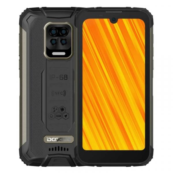 Telefon mobil Doogee S59 Pro Negru, 4G, IPS 5.71 , 4GB RAM, 128GB ROM, Android 10, NFC, Helio P22, Camera submersibila, 10050mAh, Dual SIM imagine dualstore.ro 2021