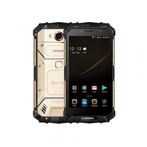 Telefon mobil Doogee S60 4G, Android 7.0, 6GB RAM 64GB ROM, Octa Core, 5.2 inchi, Incarcare wireless, Amprenta, Waterproof, DualSim imagine dualstore.ro 2021