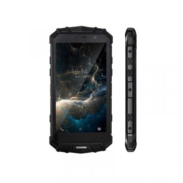 Telefon mobil Doogee S60 4G, Android 7.0, 6GB RAM 64GB ROM, Octa Core, 5.2 inchi, Incarcare wireless, Amprenta, Waterproof, DualSim 4