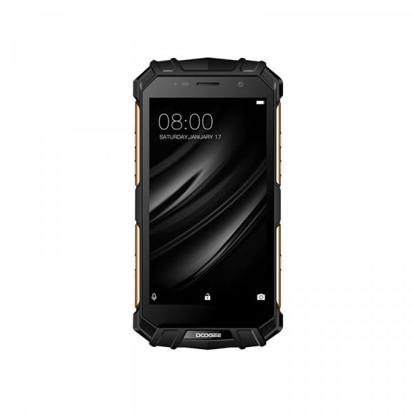 Telefon mobil Doogee S60 4G, Android 7.0, 6GB RAM 64GB ROM, Octa Core, 5.2 inchi, Incarcare wireless, Amprenta, Waterproof, DualSim 1