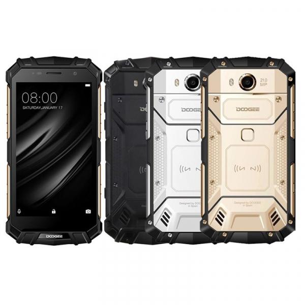 Telefon mobil Doogee S60 Lite 4G, Android 7.0, 4GB RAM 32GB ROM, MT6750T Octa Core, 5.2 inchi, Incarcare wireless, Waterproof, DualSim 0
