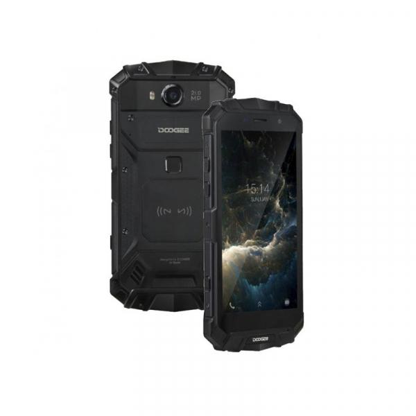 Telefon mobil Doogee S60 Lite 4G, Android 7.0, 4GB RAM 32GB ROM, MT6750T Octa Core, 5.2 inchi, Incarcare wireless, Waterproof, DualSim 5