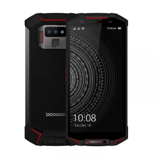 Telefon mobil Doogee S70 4G, Incarcare wireless, Waterproof IP68, 6GB RAM 64GB ROM, 5.99inch, Android 8.1, Amprenta, DualSim 4