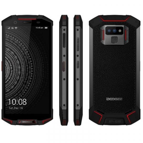 Telefon mobil Doogee S70 4G, Incarcare wireless, Waterproof IP68, 6GB RAM 64GB ROM, 5.99inch, Android 8.1, Amprenta, DualSim 9