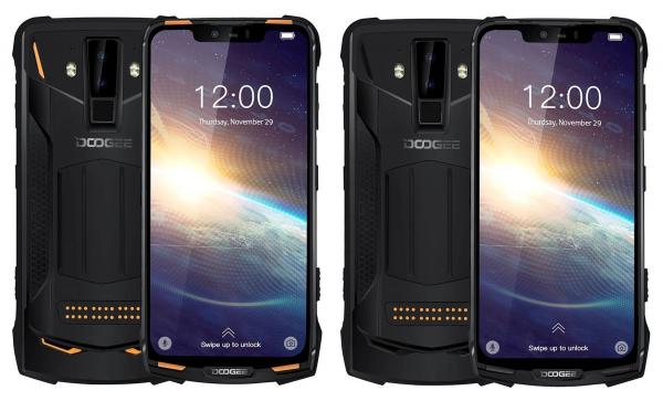 Pachet telefon mobil + 3 module Doogee S90 Pro Super, Android 9.0, 6GB RAM, 128GB ROM, 6.18 IPS, Helio P70, ARM Mali-G72 MP3, Octa Core, NFC, 5050mAh 1