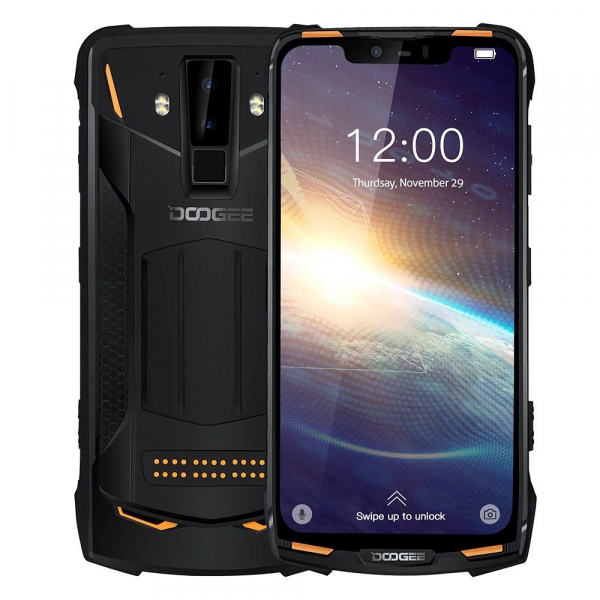Pachet telefon mobil + 3 module Doogee S90 Pro Super, Android 9.0, 6GB RAM, 128GB ROM, 6.18 IPS, Helio P70, ARM Mali-G72 MP3, Octa Core, NFC, 5050mAh 5