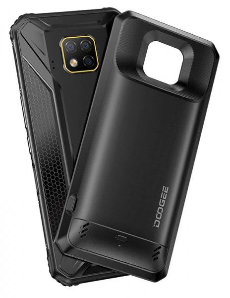 Pachet telefon mobil + 2 module Doogee S95 Pro Super,IPS6.3 inch, 8GB RAM, 128GB ROM, Android 9.0, Helio P90 Octa Core, 5150 mAh, Dual SIM 5