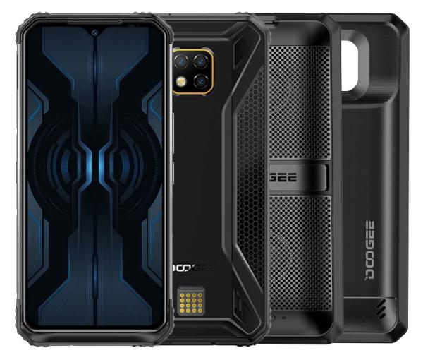 Pachet telefon mobil + 2 module Doogee S95 Pro Super,IPS6.3 inch, 8GB RAM, 128GB ROM, Android 9.0, Helio P90 Octa Core, 5150 mAh, Dual SIM 0