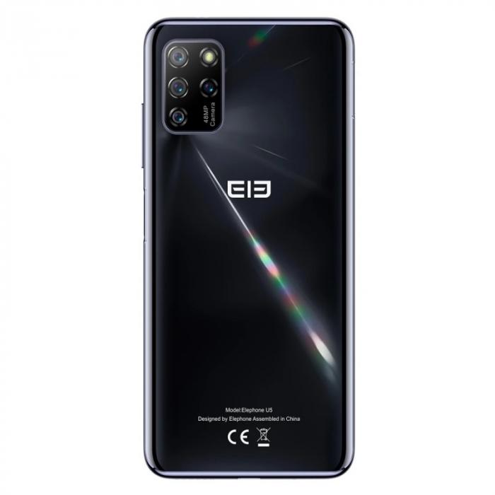 Telefon mobil Elephone U5 4/128 Negru 2