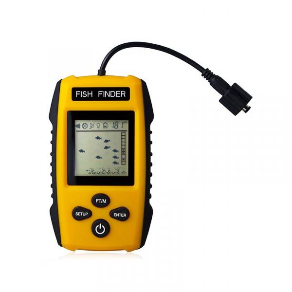 Fish Finder Portabil - sonar pentru pescuit , Senzor Adancime 100m, Pentru pescuitul la mare, lac, rau si balta 1