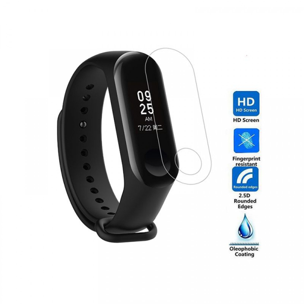 Folie de protectie pentru bratara fitness Xiaomi Mi Band 3 0