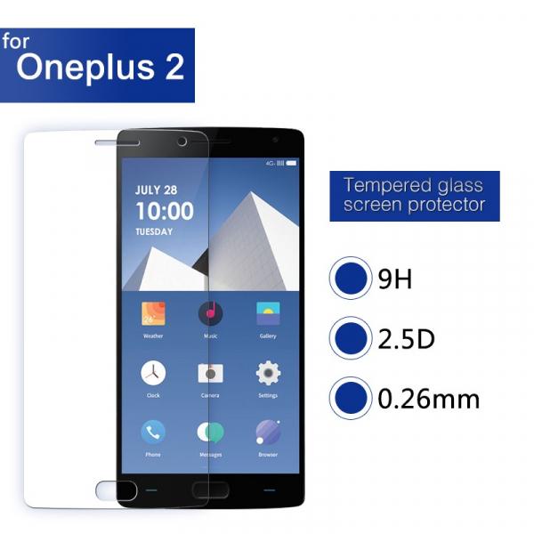 Folie de protectie din sticla pentru OnePlus two tempered glass 0