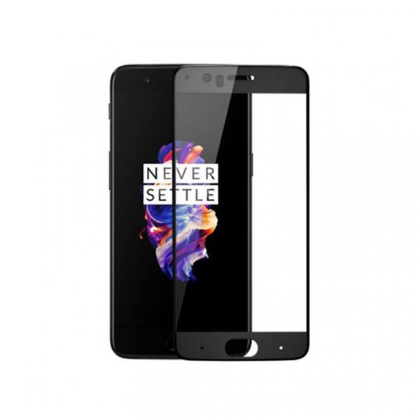 Folie de protectie din sticla securizata 4D OnePlus 5 Tempered Glass (Fata) 0