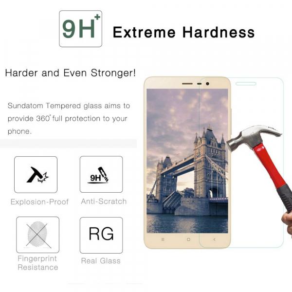 Folie de protectie din sticla pentru Xiaomi Redmi Note 4 tempered glass 0