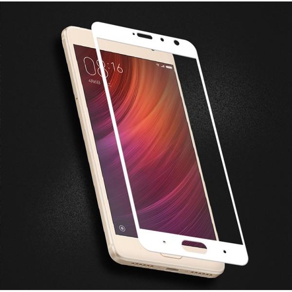 Folie de protectie din sticla pentru Xiaomi Redmi 4X Full Screen Cover 2