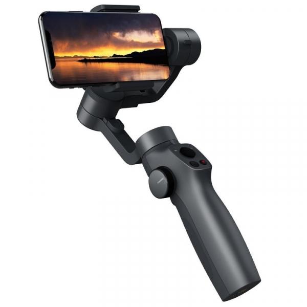 Stabilizator gimbal pe 3 axe FunSnap Capture 2, Auto face tracking, Control zoom, Time lapse, Brat extensibil, 4000mAh, Negru 3