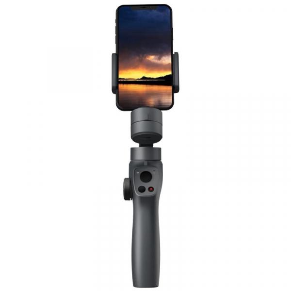 Stabilizator gimbal pe 3 axe FunSnap Capture 2, Auto face tracking, Control zoom, Time lapse, Brat extensibil, 4000mAh, Negru 5