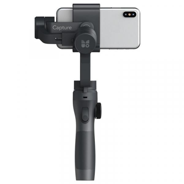 Stabilizator gimbal pe 3 axe FunSnap Capture 2, Auto face tracking, Control zoom, Time lapse, Brat extensibil, 4000mAh, Negru 6