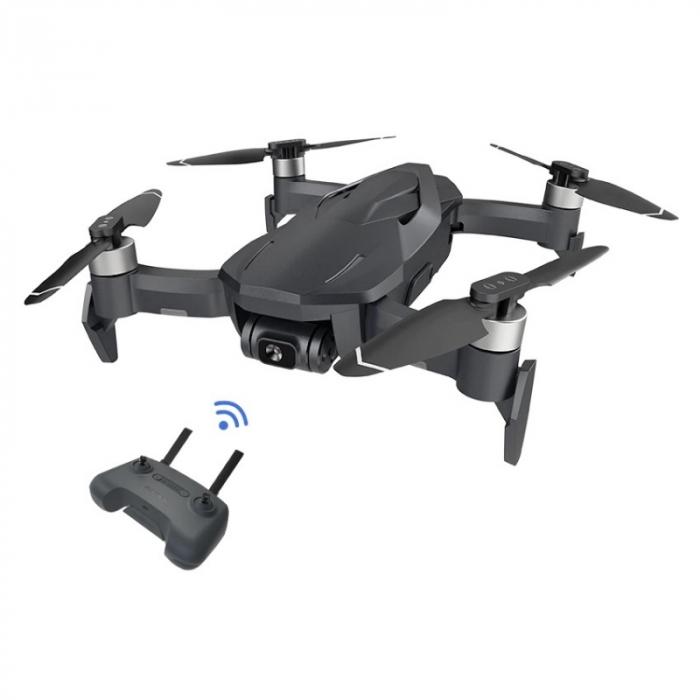 Drona pliabila FunSnap Diva Gri, Camera 4K HD, Gymbal, GPS, Wi-Fi 5.8G, Mod Vlog, Control prin gesturi, Autonomie 30 min, 2250mAh imagine dualstore.ro 2021