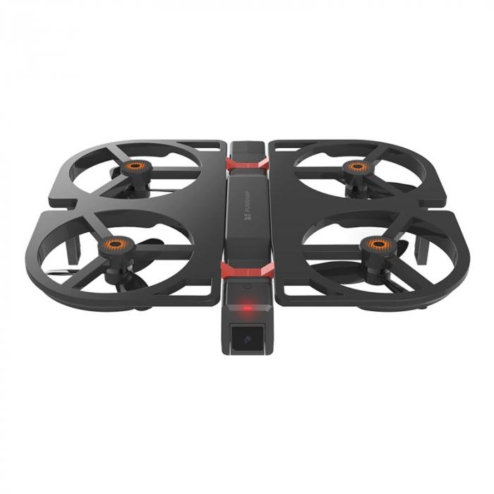 Pachet drona pliabila FunSnap iDol Negru cu 3 baterii, Motor fara perii, Camera FHD, Senzor CMOS, Memorie 8GB, GPS, Wi-Fi, 1800mAh 1