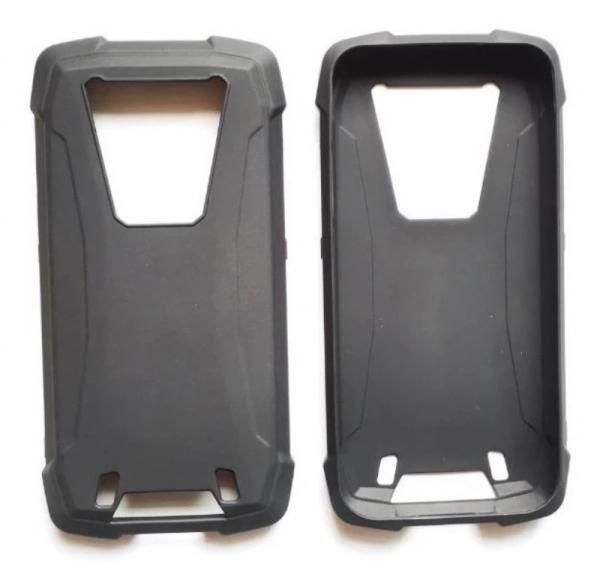 Husa neagra din silicon pentru Blackview BV6900 0