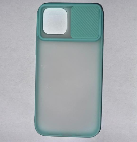 Husa din silicon cu protectie glisanta pentru lentile pentru iPhone 12 Pro Max imagine