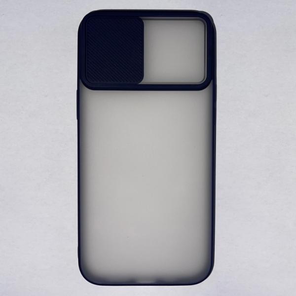 Husa din silicon cu protectie glisanta pentru lentile pentru iPhone 12 Pro Max 2