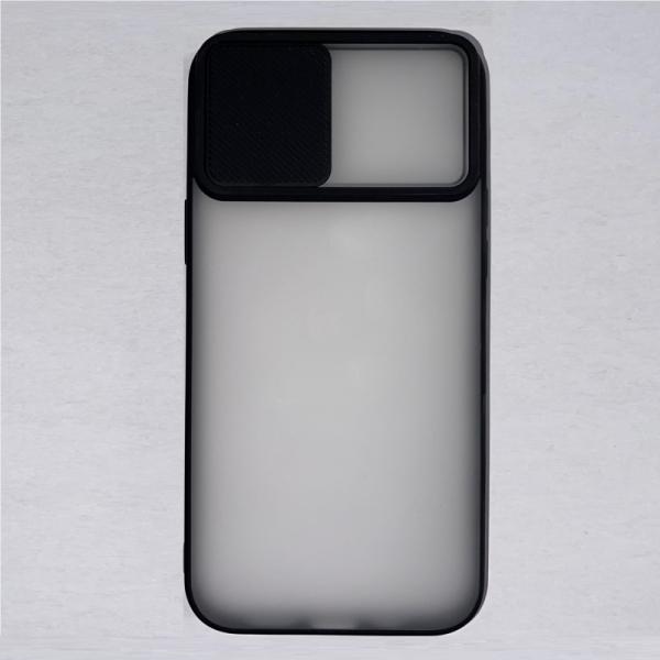 Husa din silicon cu protectie glisanta pentru lentile pentru iPhone 12 Pro Max 0