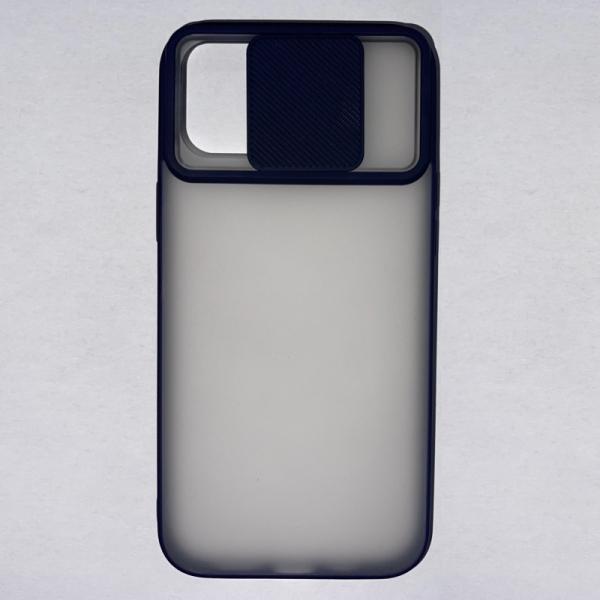 Husa din silicon cu protectie glisanta pentru lentile pentru iPhone 12 Pro Max 1