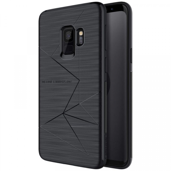 Husa Magnetica Nillkin Magic Case - pentru Samsung Galaxy S9, Suporta Incarcare Wireless imagine