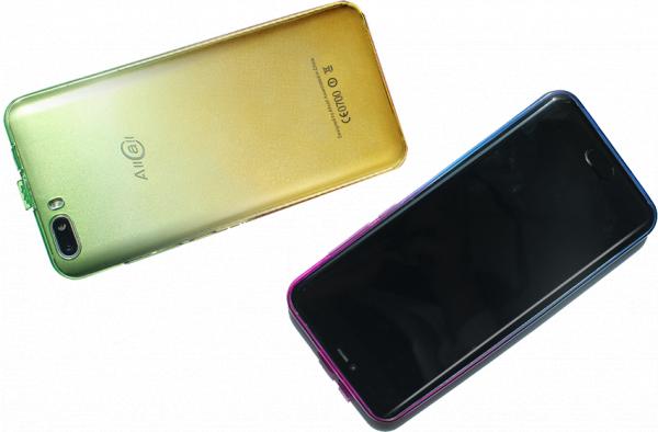 Husa silicon originala pentru Allcall Rio S 3