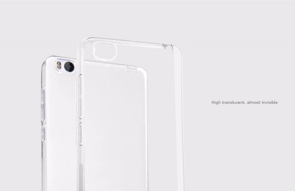 Husa din silicon transparent pentru Xiaomi Mi4i/Mi4c 2
