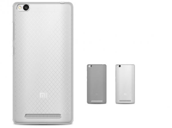 Husa din silicon transparent pentru Xiaomi Redmi 3 1