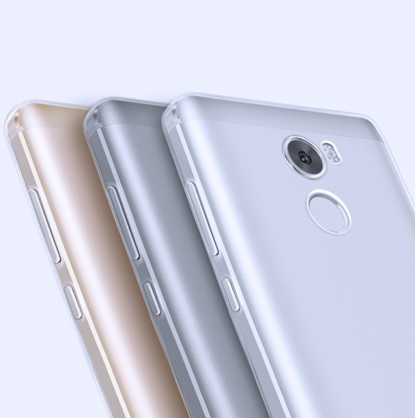 Husa din silicon transparenta pentru Xiaomi Redmi 4 0