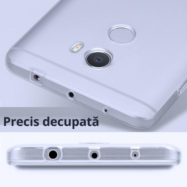 Husa din silicon transparenta pentru Xiaomi Redmi 4 1