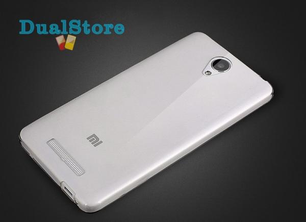 Husa din silicon transparent pentru Xiaomi Redmi Note 2 imagine