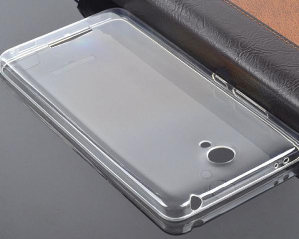 Husa din silicon transparent pentru Xiaomi Redmi Note 2 1