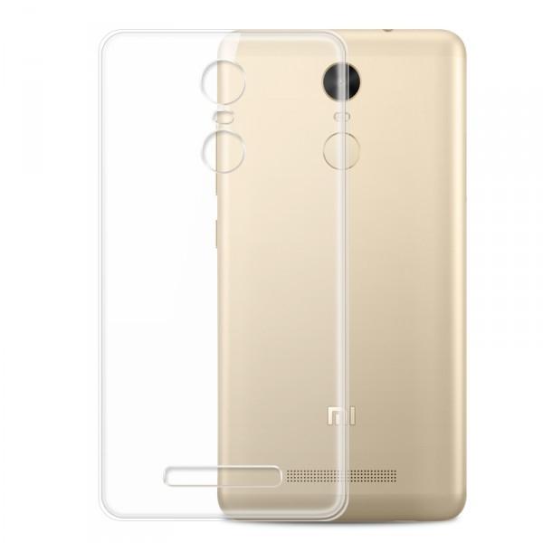 Husa din silicon transparent pentru Xiaomi Redmi Note 3/Note 3 Pro 1
