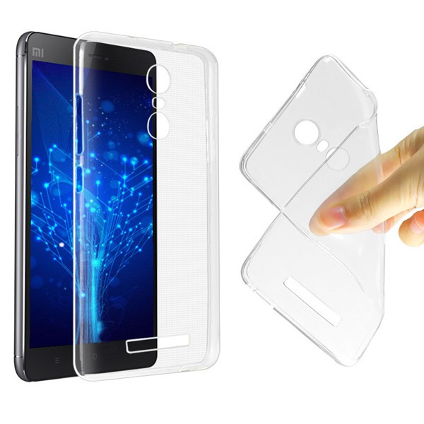 Husa din silicon transparent pentru Xiaomi Redmi Note 3 Note 3 Pro imagine dualstore.ro 2021