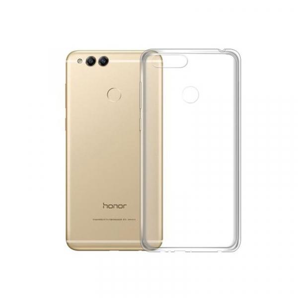 Husa din silicon transparenta pentru Huawei Honor 7x 1
