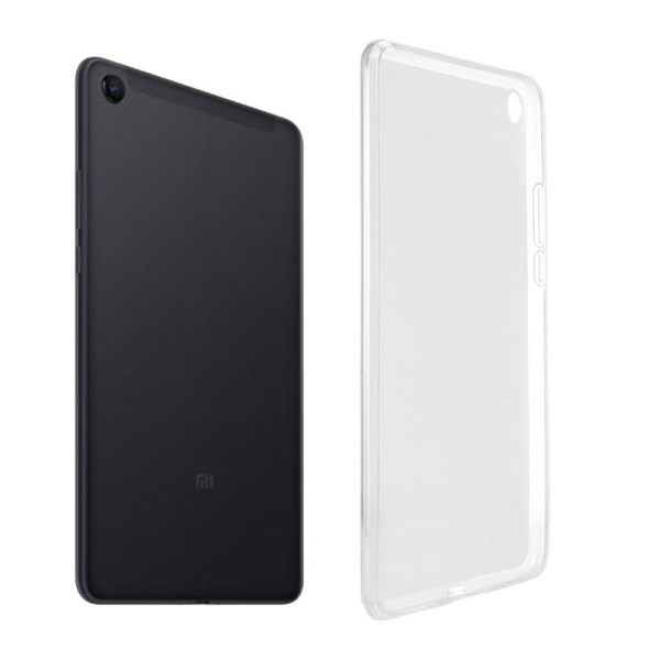 Husa silicon transparenta pentru Xiaomi Mi Pad 4 Plus 1